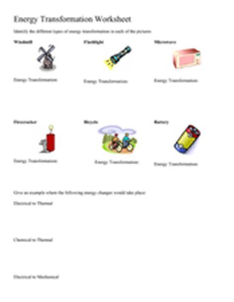 worksheet 4 6 forms of energy answer key energy transformation worksheet 5th 8th grade worksheet