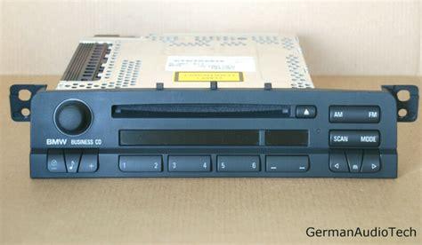 bmw e46 radio bmw e46 business cd mp3 player stereo radio aux cd53 325