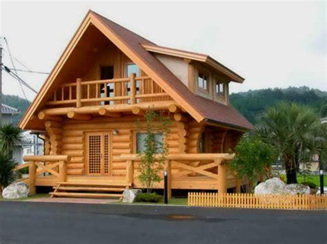 inspirasi desain rumah kayu minimalis modern