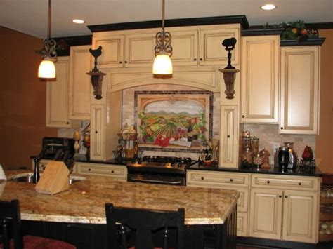tuscan kitchen ideas tuscan kitchens black crown moldings and cabinets on