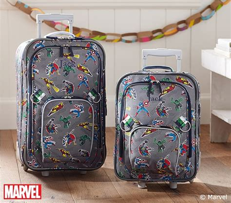pottery barn suitcase marvel rolling luggage pottery barn