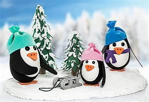 Basteln Mit Styropor : pinguine aus styropor eiern basteln buttinette bastelshop ~ Eleganceandgraceweddings.com Haus und Dekorationen