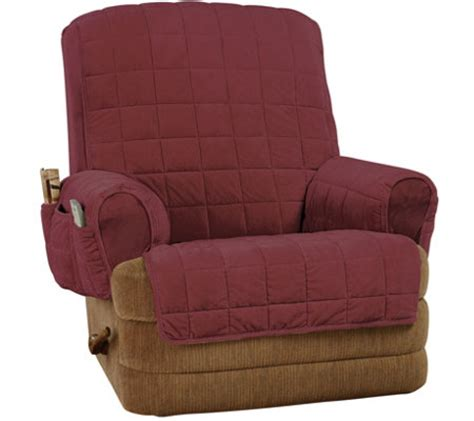 sure fit ultra deluxe recliner stretch furniture cover