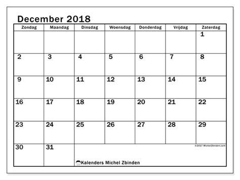 kalender december zz michel zbinden nl