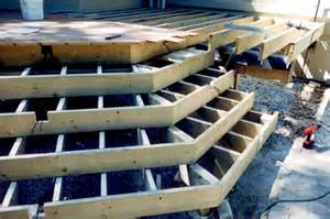 Build Steps For Deck by Pdf Diy How To Build Wood Steps On A Deck Download