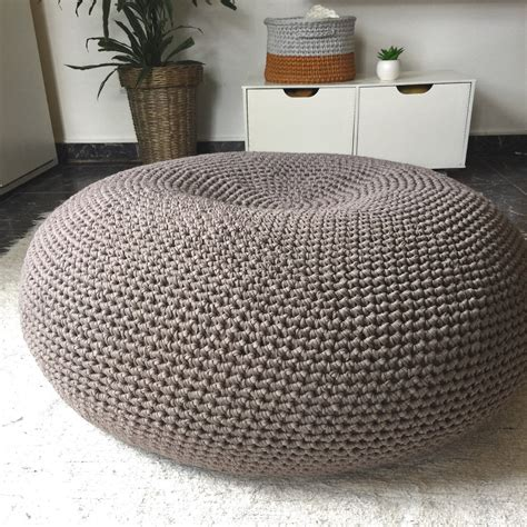 Large Pouf Ottoman by Pouf Ottoman Large Floor Cushion Bean Bag
