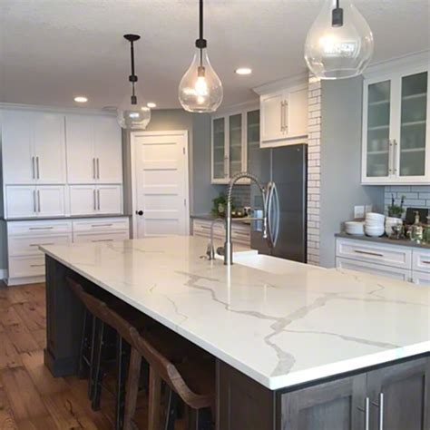 prefabricated kitchen island msi 39 s 5 most popular marble lookalike quartz countertops