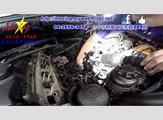 Replacing the Crankcase Ventilation System CCV BYPASS
