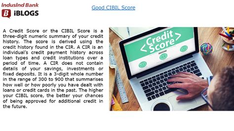 May 29, 2021 · can using more than one credit card hurt your cibil score? Good CIBIL Score |authorSTREAM