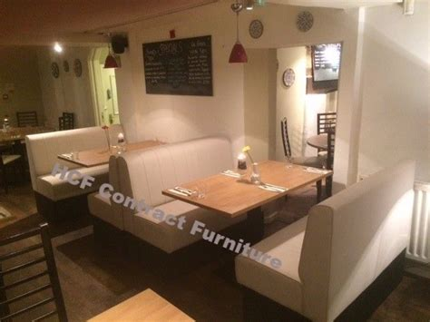 upholstered restaurant booths fixed bench bar seating banquette suppliers manufacturers uk
