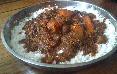 cuisine malienne recette du thiou viande ou poisson