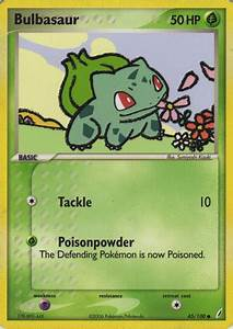 Bulbasaur (EX Crystal Guardians 45) - Bulbapedia, the ...