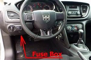 Fuse Box Diagram  U0026gt  Dodge Dart  Pf  2013