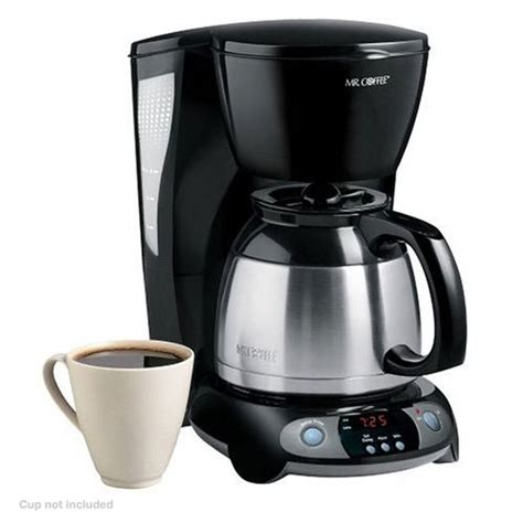 Coffee ® thermal carafe coffeemaker purchase! Mr Coffee TFTX85 Coffee Maker - 8 Cup, Programmable, Thermal Carafe, Delay Brew, Auto Shut Off ...