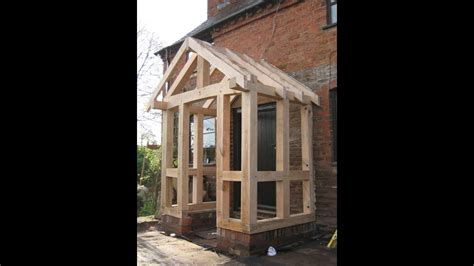 Timber frame porch   YouTube