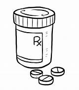 Pill Bottle Drawing Medication Prednisone Medicine Medical Coloring Pages Sketch Non Goes Way Switching Getdrawings Happy Template sketch template