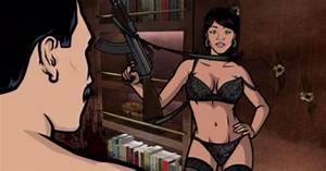 Lana Kane #archer #dangerZone | I feel funny in my ...