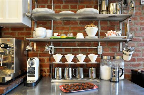 metal kitchen racks metal kitchen add sleek shine to your kitchen with stainless steel shelves