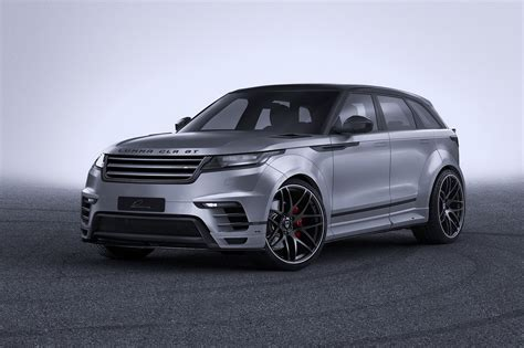 range rover velar widebody range rover velar by lumma is all with no