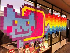 Post It Art : post it note art guest post by stacey costabile tlt16 teen librarian toolbox ~ Frokenaadalensverden.com Haus und Dekorationen