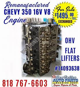 Gm Chevy 350 5 7l Engine For Sale