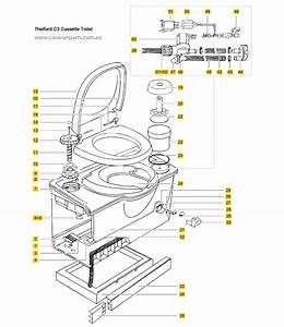 Thetford C3 Cassette Toilet