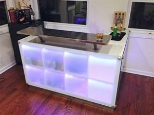 Bar Meuble Ikea : diy cr er un bar avec des meubles ikea ikea ~ Teatrodelosmanantiales.com Idées de Décoration