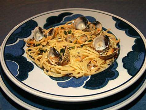 les meilleures recettes de coques  spaghetti