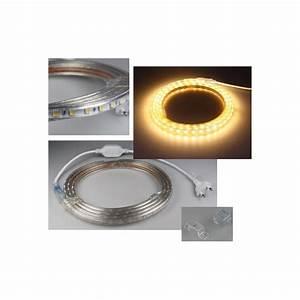 Led Lichtband Dimmbar : led lichtband ip44 230v mit stecker stripe schlauch dimmbar 50 500w 5 50m ebay ~ Watch28wear.com Haus und Dekorationen