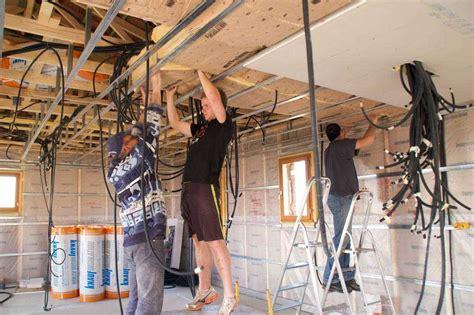 faux plafond cadrette isolation idees