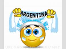 Argentina Flag emoticon Emoticons and Smileys for