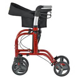 juvo mobi rollator transport chair cherry red walgreens