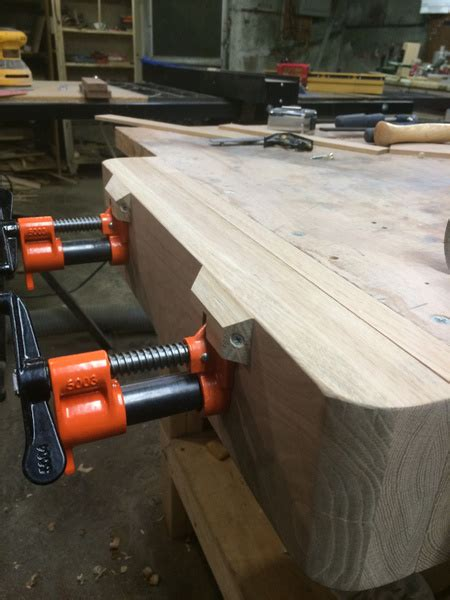 budget pipe clamp vise build woodworking talk