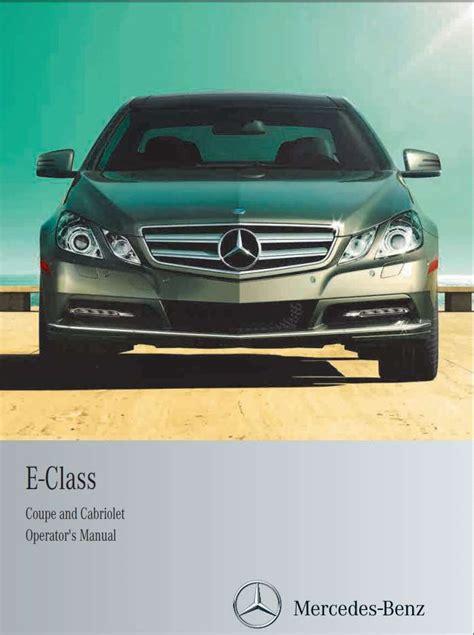 download car manuals 2011 mercedes benz e class interior lighting mercedes benz e class coupe and cabriolet 2013 owner s manual pdf online download