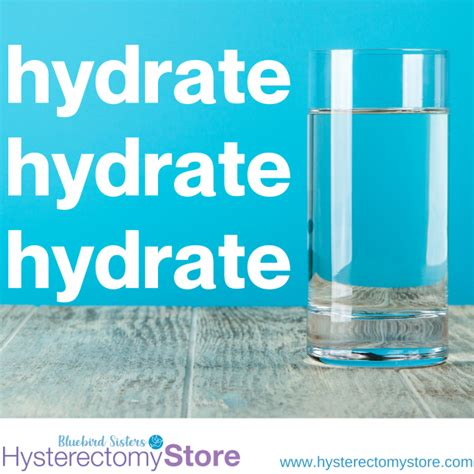 water Archives - Hysterectomy Store Blog