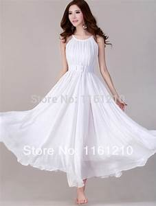 aliexpresscom buy white summer holiday beach dress With plus size wedding party dresses