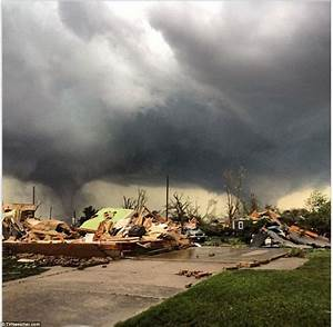 Pilger  Nebraska Town U0026 39 S Tornado Destruction Seen In Aerial