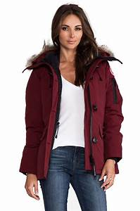 Canada Goose Montebello Parka In Wine In Purple Lyst