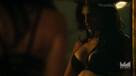 Naked Eiza González In From Dusk Till Dawn The Series