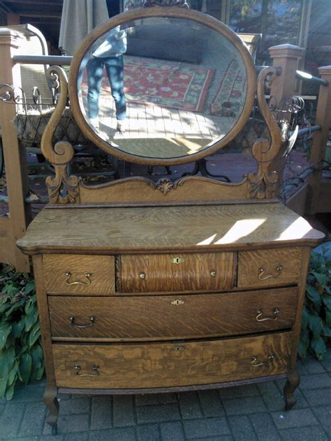 Tiger Oak Dresser Beveled Mirror by 17 Best Images About Home Bedroom On Lofted