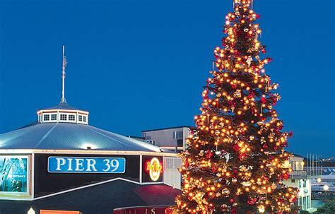 pier 39 tree lighting celebration saturday 2015 funcheap