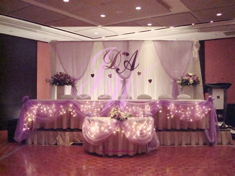 Wedding Reception Decorations by Purple 1