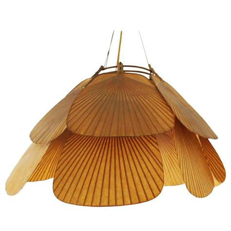 ingo maurer uchiwa pendant chandelier rice paper and