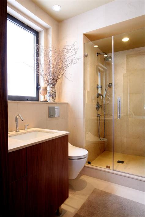 modern bathroom  fresh clean hgtv