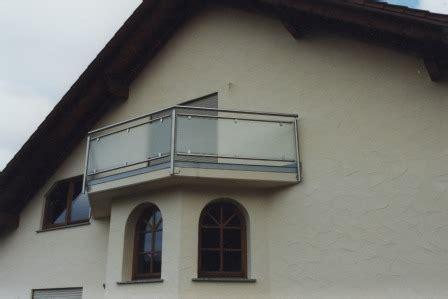 balkongeländer glas edelstahl gel 228 nder edelstahl balkongel 228 nder mit glas als