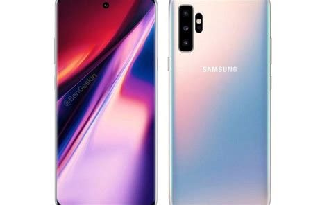 samsung galaxy note 10 5g editions spotted geekbench with sd855 exynos 9825 12gb ram