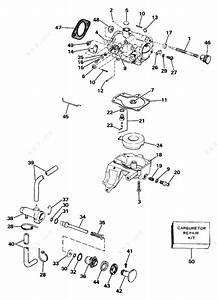Johnson 1984 25 - J25rwlcrd  Carburetor