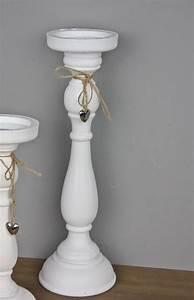 Kerzenständer Holz Groß : teelichthalter kerzenhalter wei holz herz silber landhaus deko kerzenst nder ebay ~ Eleganceandgraceweddings.com Haus und Dekorationen