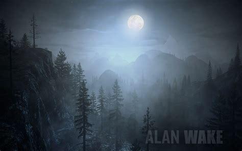 Alan Wake Full Moon Hd Wallpaper High Quality Wallpapers