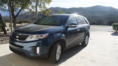 Driving The Kia Sorento